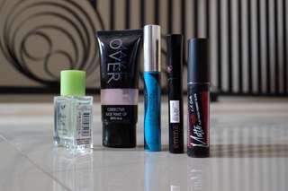 Mascara, parfum, the body shop, primark, LA girl