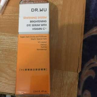 🚚 DR WU vc微導美白眼部精華 含運🚗
