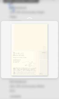MD notebook 10th anniversary - White Grid