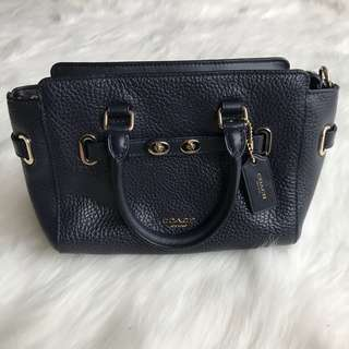 NEW - COACH MINI BLAKE NAVY