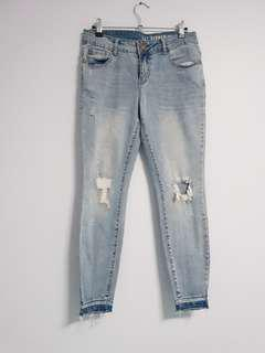 Cotton On ripped jeans