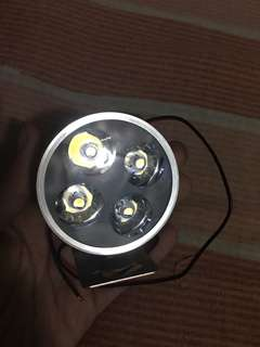 4 led light for motor with bracket waterproof