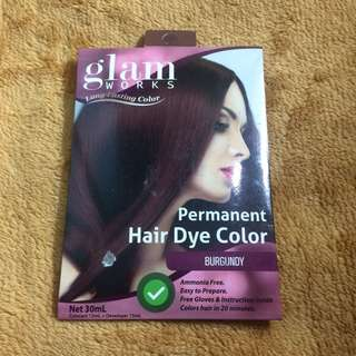 Glam works Hair coloring