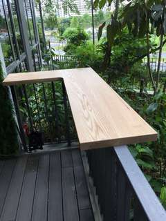 🚚 Solid Wood Table Top