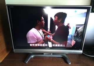 80%新 日本製造 Made in Japan 聲寶牌 SHARP 37吋液晶電視機 (沒有遙控器,葵涌自取,不包運送)