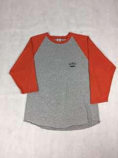 🚚 USA vintage-美國古著 7分袖棒球上衣