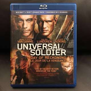 (UNCUT) Universal Soldier : Day of Reckoning Blu-ray