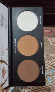City Color Contour Palette 3 in 1
