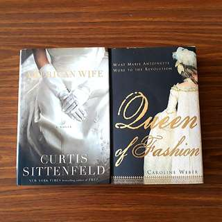 2 for $10: American Wife; Queen of Fashion