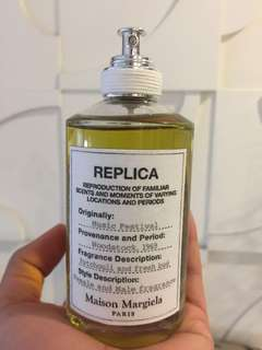 AUTHENTIC and PRE-LOVED REPLICA Perfume by Maison Margiela in Music Festival