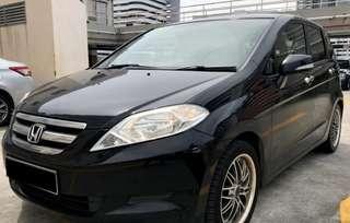 Honda Edix 2.0A (New 5-yr COE)