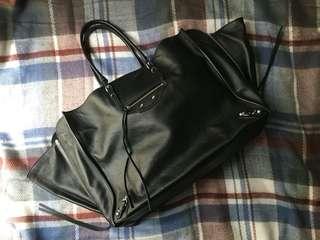 Balenciaga papier a4 -black (chanel Celine Dior givenchy)