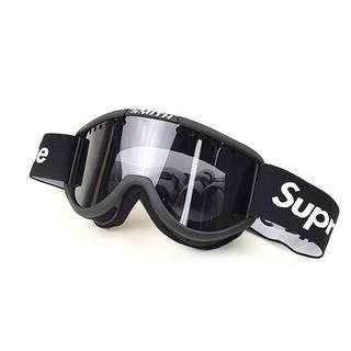 (代購)中古品SUPREME ×Smith 15AW Cariboo OTG Ski Goggle