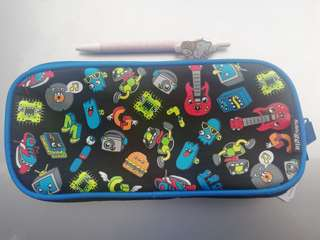 Smiggle see thru pencil case rm39 NEW