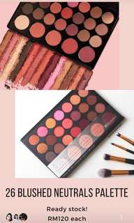 Blushed nuetrals eyeshadow palette