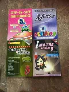 P5 Workbooks- Math