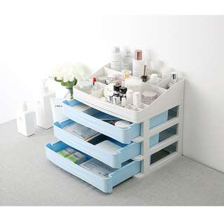 NEW! 3 Layer Multipropose Cosmetic Makeup Storage Organizer Drawer Box