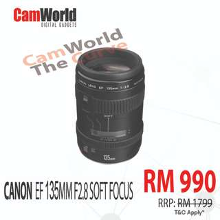 CANON 135MM F2.8 SOFT FOCUS