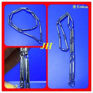 Thai Amulet - 不锈白钢 佛牌项链  Stainless Steel Necklace Chain