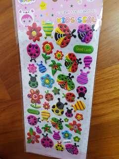 🚚 [IN STOCK] 3D Children Sticker/Goodie Bag/