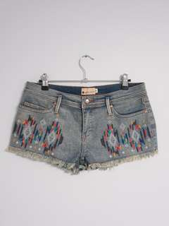 MULTIPLE demin shorts and skirts