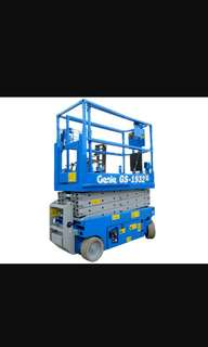 🚚 JLG and GENIE Scissorlift