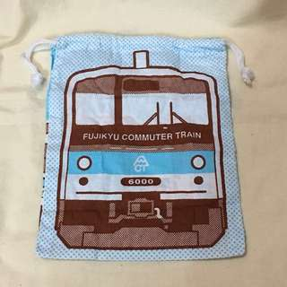 富士山火車 6000 型號限定束袋 扭蛋