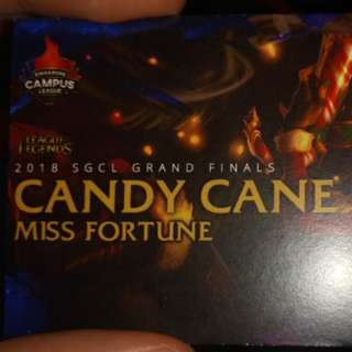 League of legends candycane miss fortune skin