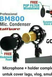 1 set mic bm 800