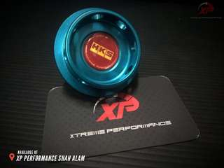 Engine Oil Cap HKS for NISSAN FORD Blue color
