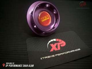 Engine Oil Cap HKS for NISSAN FORD Purple color