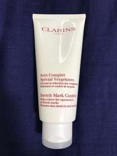 Almost New Clarins Stretch Mark Cream