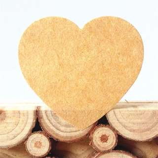 (Pre-order) NEW 3.5cm Kraft Heart shaped labels (50 Pieces)