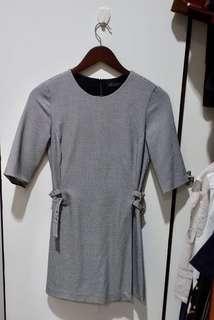 Zara Trafaluc black & white jumpsuit dress