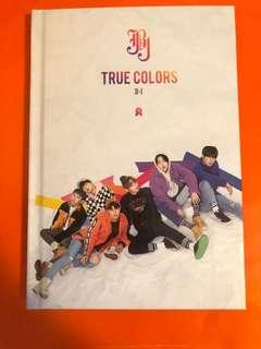 JBJ True Colours Version1 專輯 小瑕