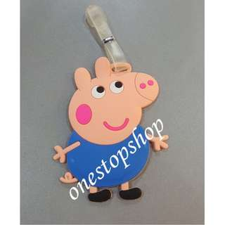Shop : PEPPA PIG TRAVEL BAG LUGGAGE TAG 1 pc