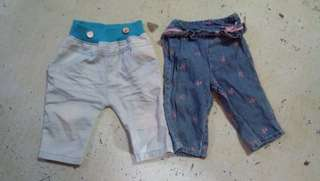 Baby jeans. Maong