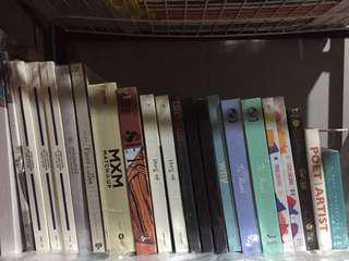 (ONHAND AND SEALED BRAND NEW ALBUMS) Kpop albums SVT MXM CHUNGHA ETC