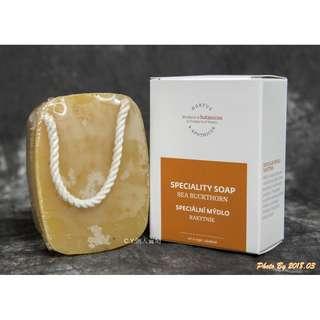 🚚 C.Y. 捷克 BOTANICUS(菠丹妮/波丹尼) 沙棘手工皂/香皂/肥皂 190g 盒裝/懸掛式