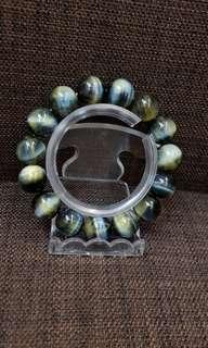 Blue Tigereye bracelet蓝虎眼手链