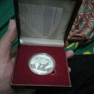 Coin Silver 99,9% chinese panda
