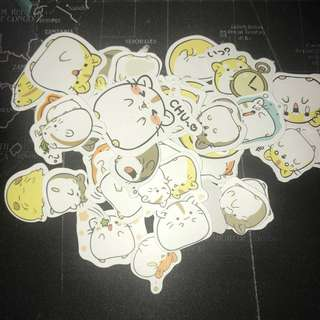 sticker grab bag (10 stickers for $0.80)