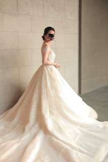 Wedding Gown For rent (2 in 1 Gown)