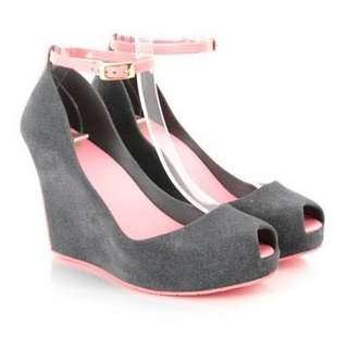 Melissa Shoes - Patchuli - Grey Pink Suede