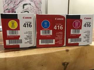 Canon 416 Cartridge Genuine bundle deal