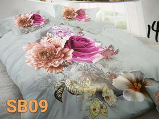Bed Sheet 9D set