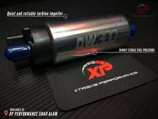 Internal Fuel Pump DW300 320LPH silver