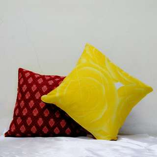 Sarung bantal kursi double side