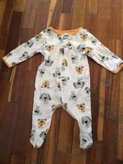 Newborn baby sleepsuit baby romper