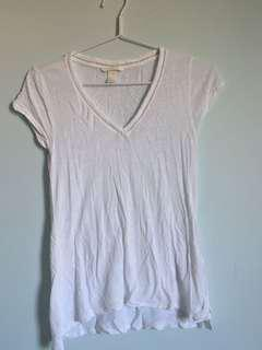 H&M White T-Shirt